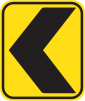 Caution Arrow
